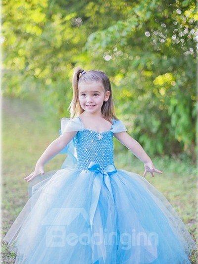 Cinderella Style Light Blue Princess Dress Girl