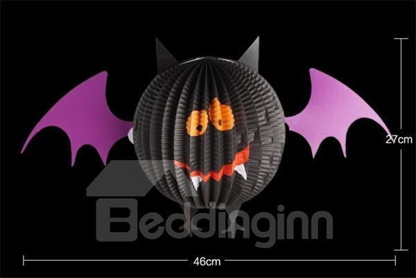 Cute Bat Pendant Halloween Lantern Decoration