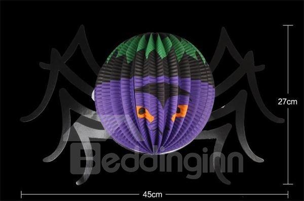 Special Large Size Spider Lantern Halloween Decoration