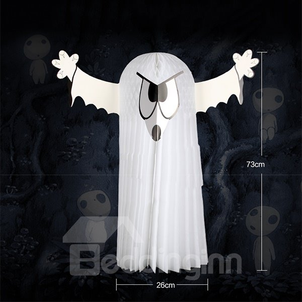 Oversized White Ghost Pendant Halloween Decoration