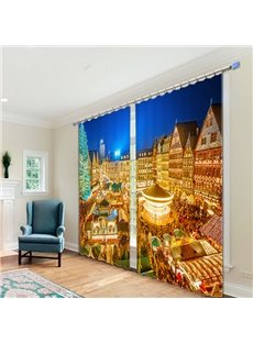 Functional Noise Reducing 3D Blackout Curtain