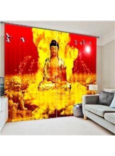 High Quality 3D Digital Printing Blackout Curtain