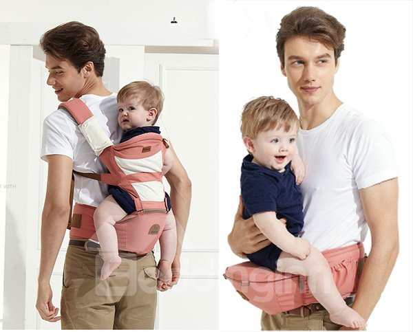 Soft and Breathable Multi-Functional Baby Hipseat Carrier