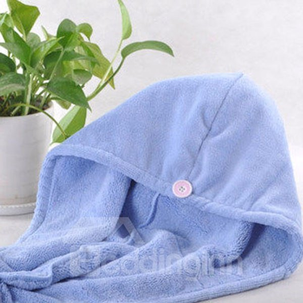 Thick Water Absorption Quick Dry Hair Towel