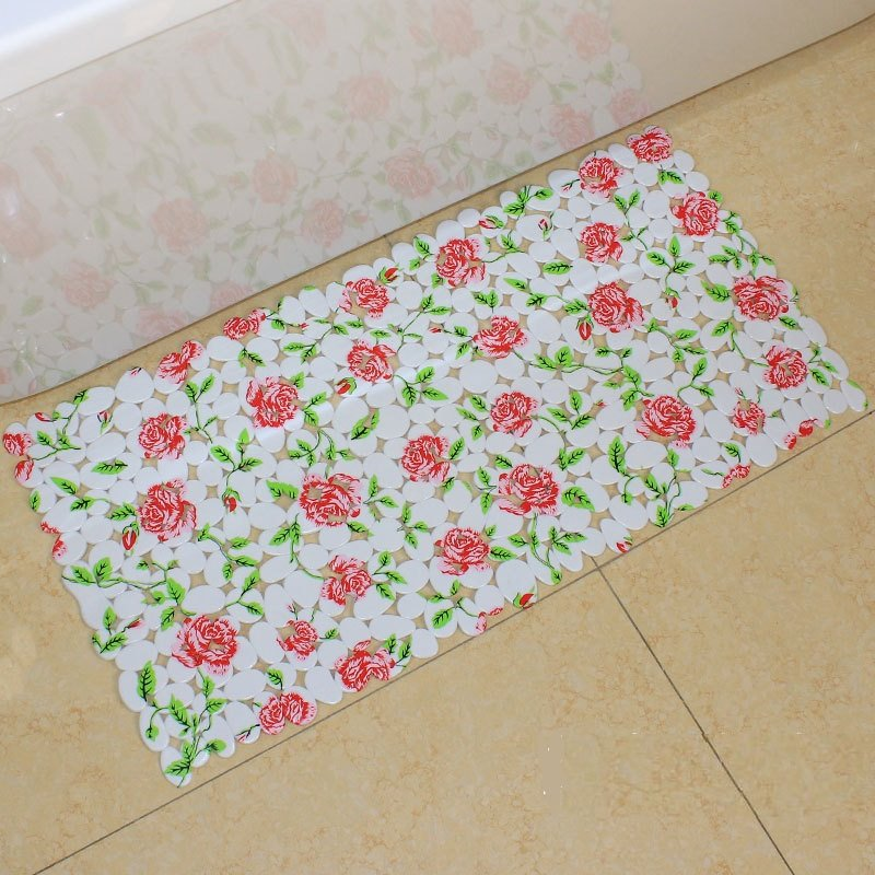 Unique Pretty Sunflower Print Skid-resistant Bath Mats