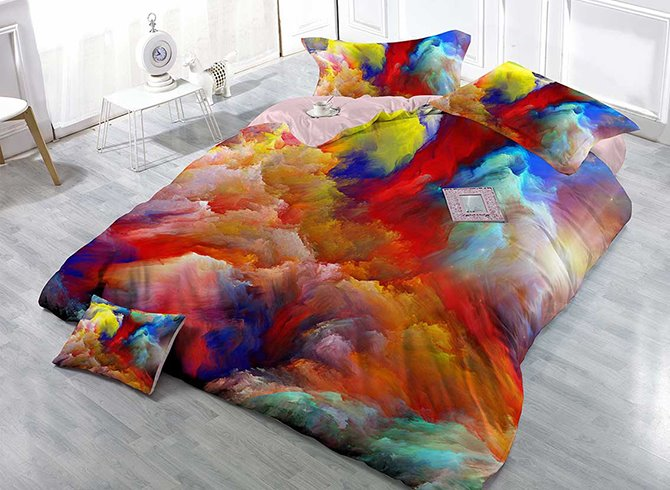 Beddinginn Colors Print Duvet Cover Sets Abstract