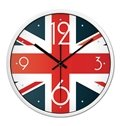 Classic British National Flag Union Jack Mute Wall Clock