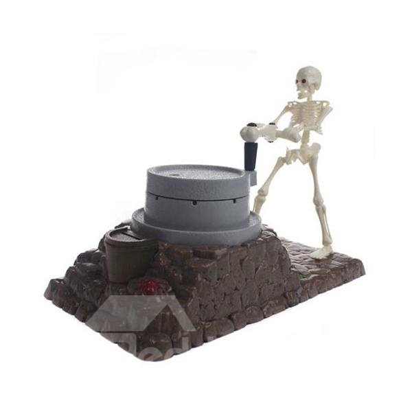 Funny Skeleton Design Automatic Saving Pot Halloween Gift