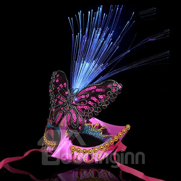 Fascinating and Charming Luminous Halloween Mask