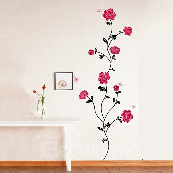 Gorgeous Romantic Flowers Various Arrangements Removable Wall Stickers