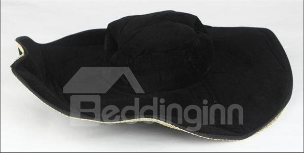 Charming Personal Wide Brim 60cm Private Hat
