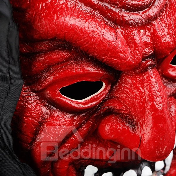 Appalling Monster Mask Red and White Colors to Choose