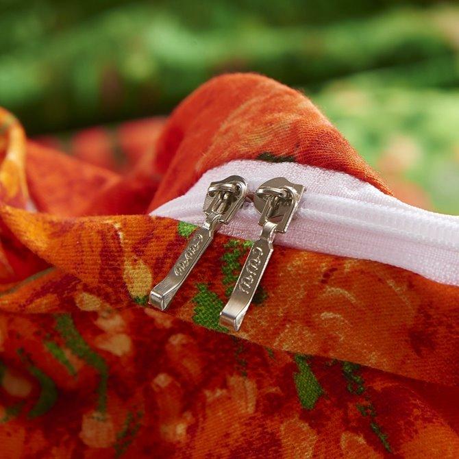 Classy Colorful 4-Piece Cotton Duvet Cover Sets