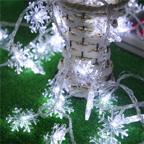 Novelty Snowflake Style 10m LED Christmas Light