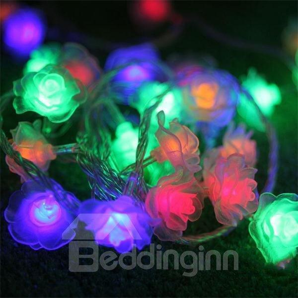 Romantic Rose Style LED 10m Christmas Light
