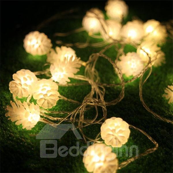Cute Pine Cone Design 10m LED Christmas Light