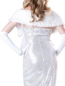 High Class Luxurious Pure White Mermaid Costume