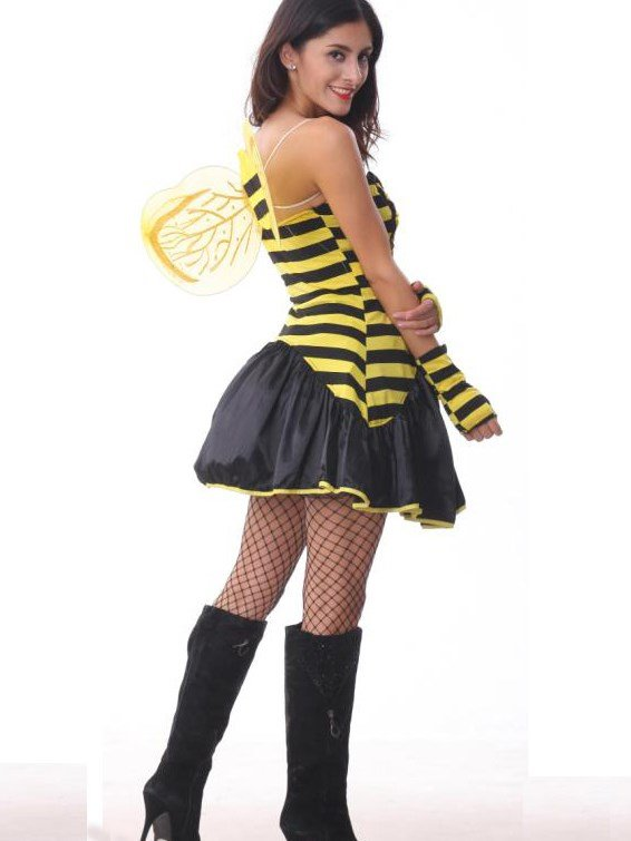 High Class Sexy Little Bee Halloween Costume