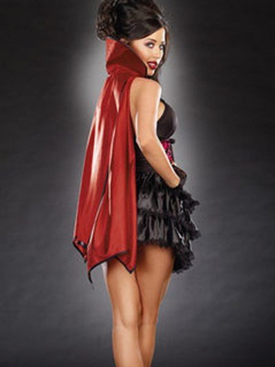 Hot Selling Attractive Unique Vampire Design Costume