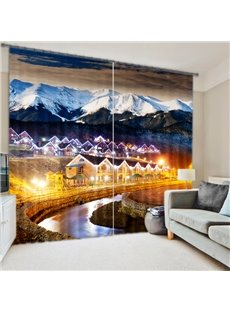 Amazing Scenery 3D Energy Saving Curtain