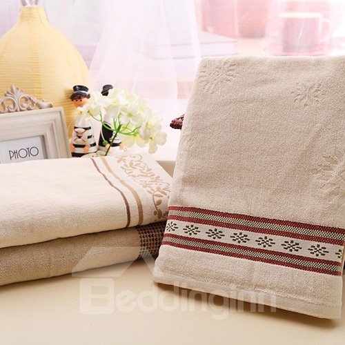 New Style Christmas Flora Kids Cotton Towel