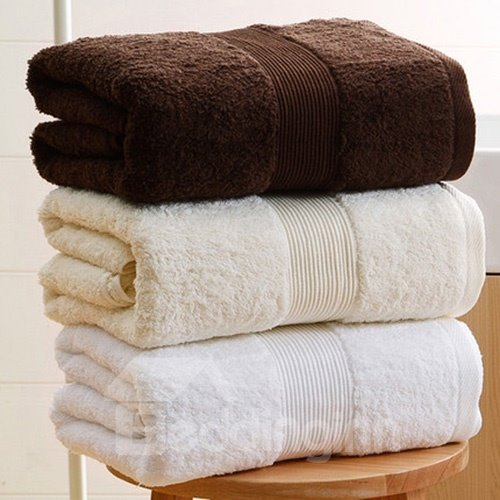 Popular Pure Color Thick Hotel Cotton Towel