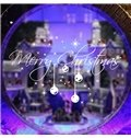 Merry Christmas Glass Decoration Removable Wall Sticker