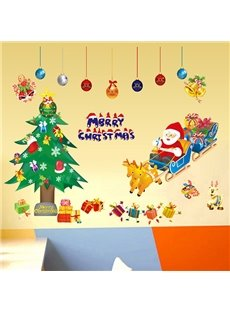 Festival Christmas Theme Nursery Removable Wall Sticker