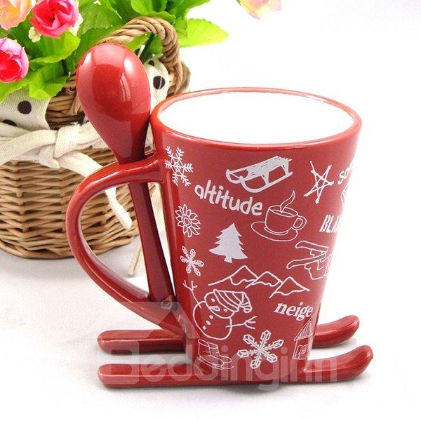 Creative Sledge Design Christmas Gifts Ceramics Coffee Mug