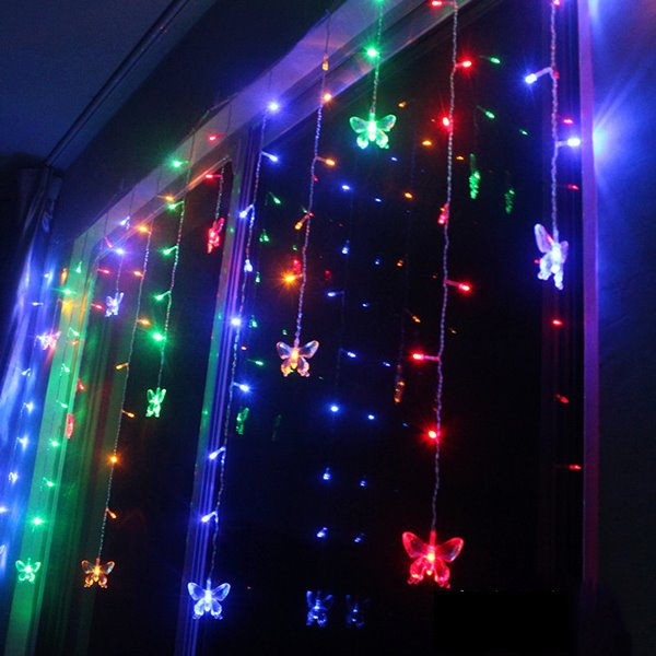 66 festival christmas decoration butterfly design neon strip led lights - Led Light Christmas Decorations