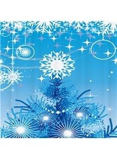 New Arrival Fantastic Christmas Design 3D Shower Curtain