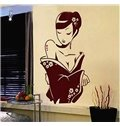 Gorgeous Graceful Dream Lady in Evening Dresses Removable Wall Sticker