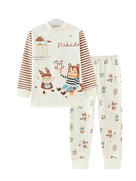 Adorable Little Magician Theme 2-Piece Kids Pajamas