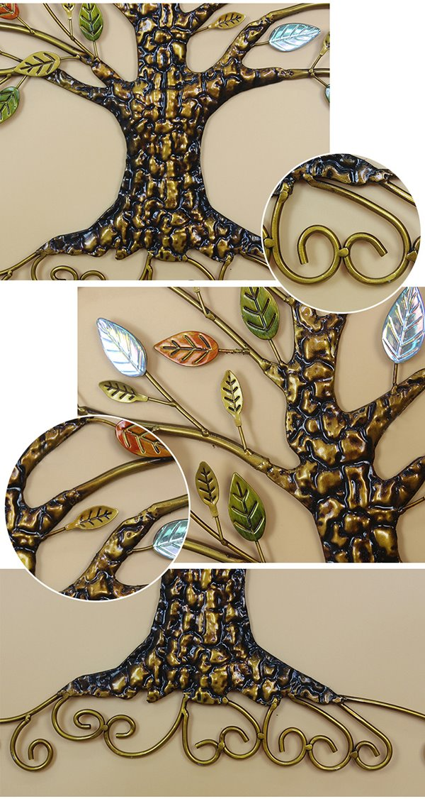 Classical Wall DecorationTree Design Ironworks Wall Art