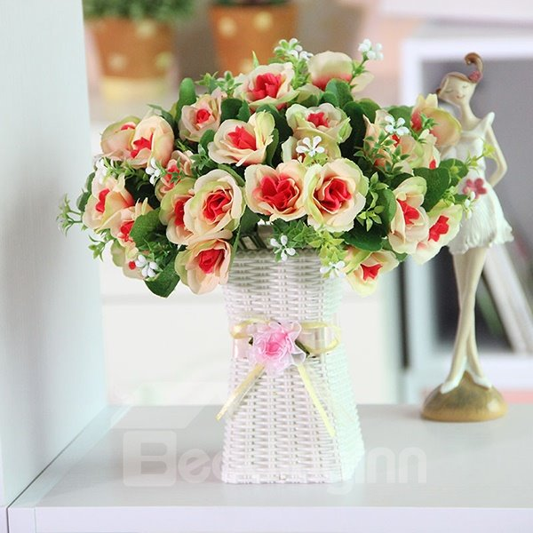 Sweet Table Decoration Multi-Color Roses Flower Sets