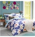 Beautiful Summer Flowers Pattern Kids Duvet Cover Set