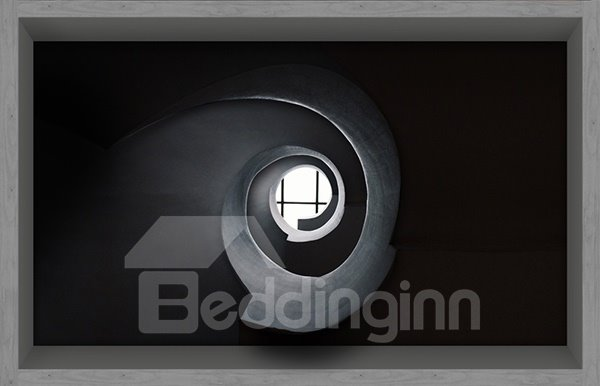 Light Shining Through Little Hole  Slipping-Preventing Water-Proof Bathroom 3D Floor Sticker