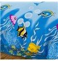 Cartoon Sea World Tropical Fish Print 4-Piece Duvet Cover Sets