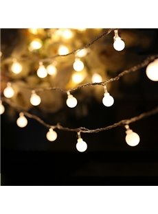 Decorative Festival 10-Meter 80 Round Indoor Outdoor LED String Lights