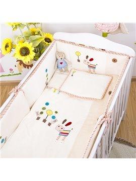 100% Cotton Simple Style Crib bedding Set