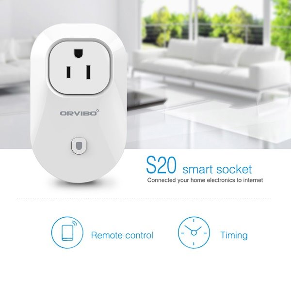 Timer Socket Outlet Switch Smart Digital WiFi Remote Control US Plug