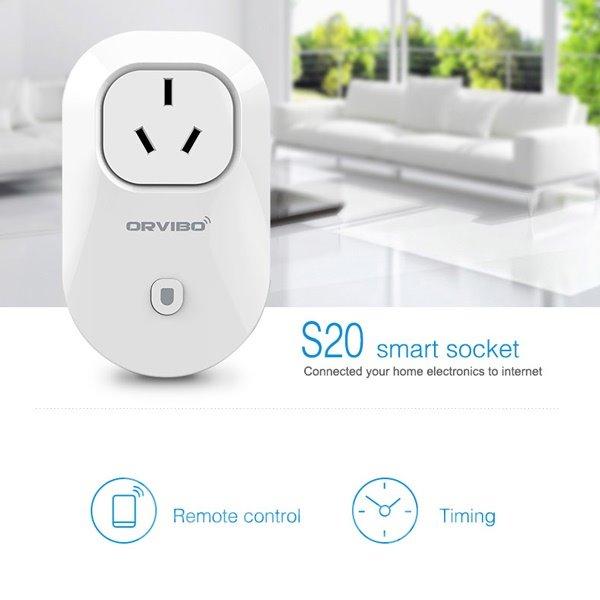 Timer Socket Outlet Switch Smart Digital WiFi Remote Control AU Plug