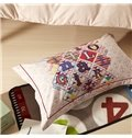 Fashion Alphabet Design Cotton 4-Piece Duvet Cover Sets
