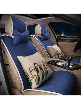 Easy to install Concise Designed with Animal Cushions Car Seat Cover