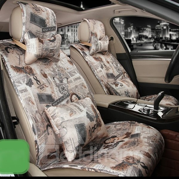 Modern Designed Chinese Impression Car Seat Cover