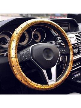 Shiny Pure Colored Premium Car Steering Wheel Cover