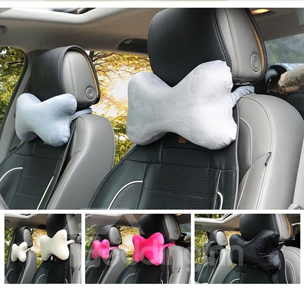 Super Comfortable Single Colored Memory Form Neckrest Pillow
