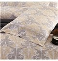 Exquisite European Jacquard 4-Piece Cotton Duvet Cover Sets