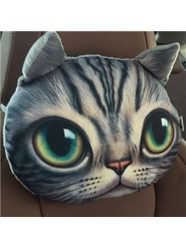Humorous Personalized Innocent Face Car Seat Pillows