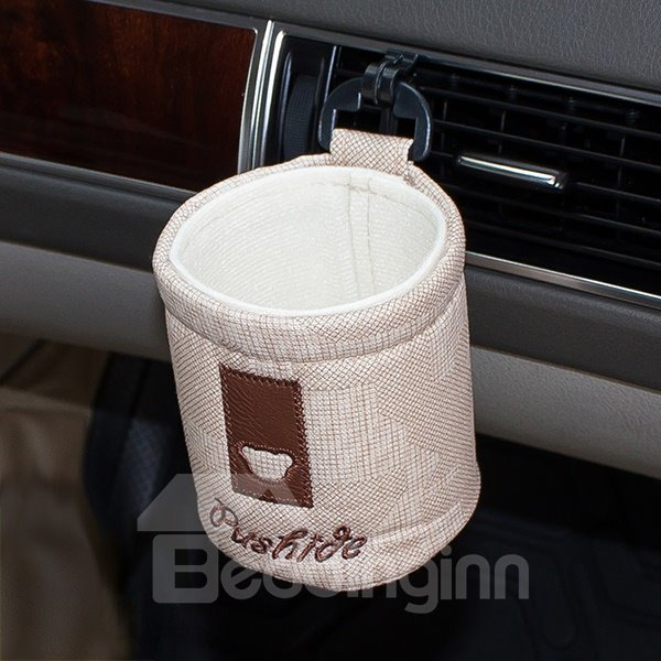 Soft and Solid Linen Car Phone Holder